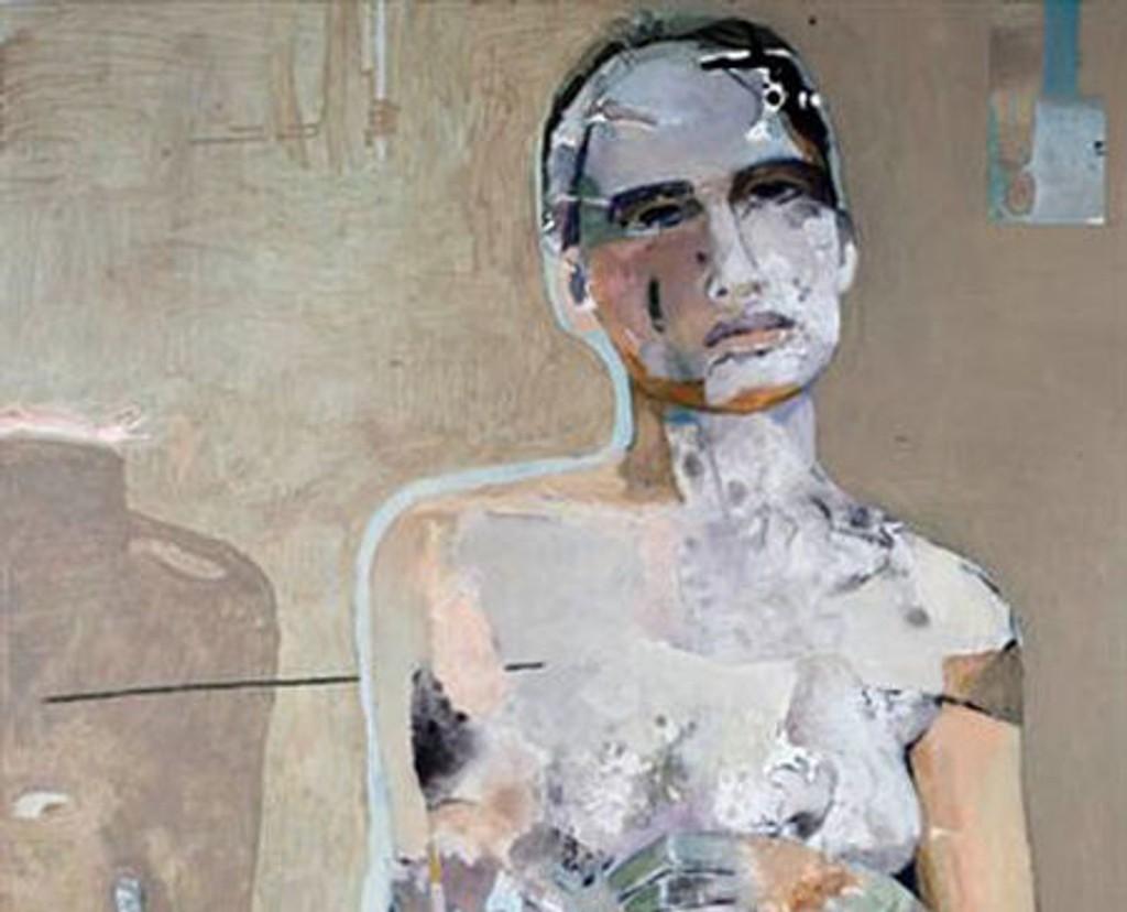 Heidi Øiseth fokuserer alltid på forskjellige aspekter av kvinner i sine malerier.