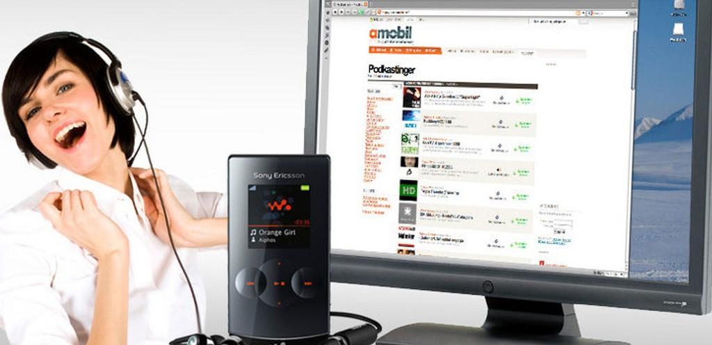 POD: Nå kan du laste ned podkaster på Amobil.no.