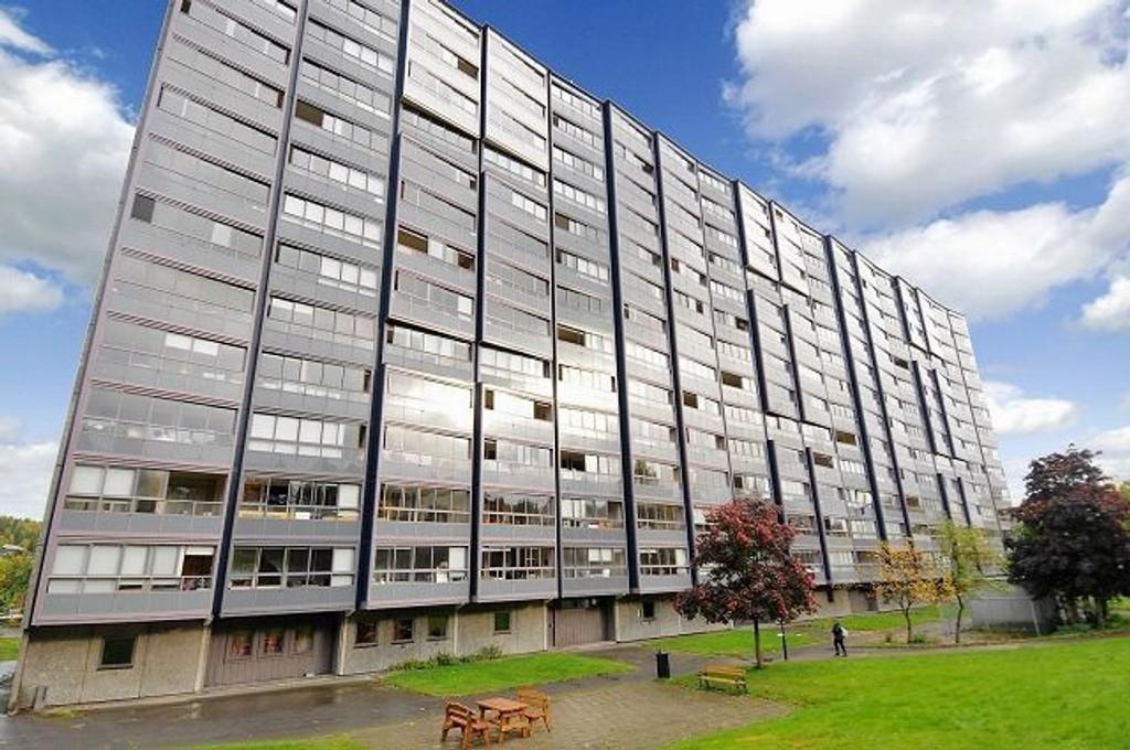 En 3-roms leilighet i Ammerudhellinga 39 ble nylig solgt for prisantydningen på kr 1.350.000,-. Foto: Eiendomsmegler1 Groruddalen