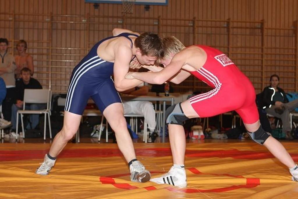 OBK-bryteren Jonas Olsborg (17) til sitt aller første KM-gull denne helga.