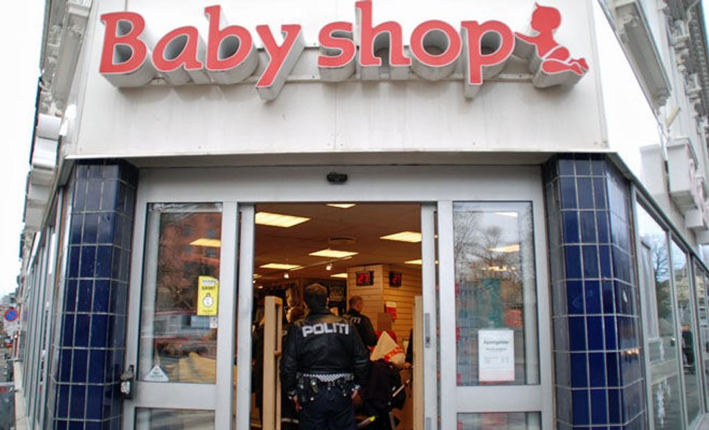 RAIDES AV GRAVIDE: I denne butikken skal kvinnen ha stjålet varer for 12.000 kroner.