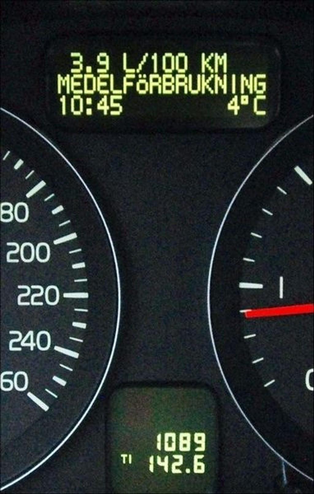 ØKONOMISK: 0,39 liter/mil gir bare 103 gram CO2/km i utslipp. (Foto: Øivind Skar)