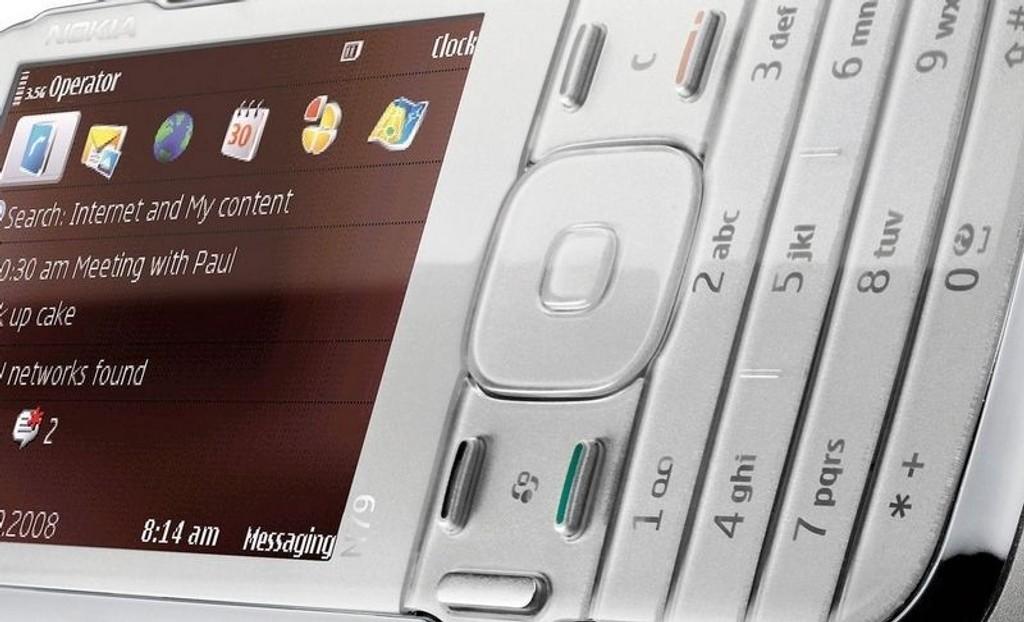 PEN: Nokia N79 er en stilig mobil med masse bra innhold og en usedvanlig dårlig tasteløsning.