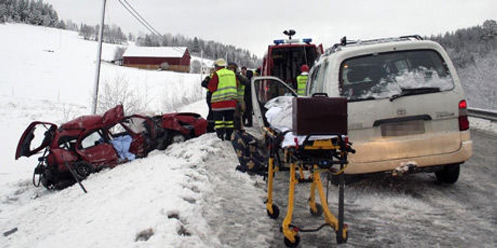 Trafikkulykke nyttårsaften