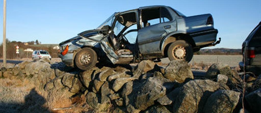 mistet livet bilulykke 2009