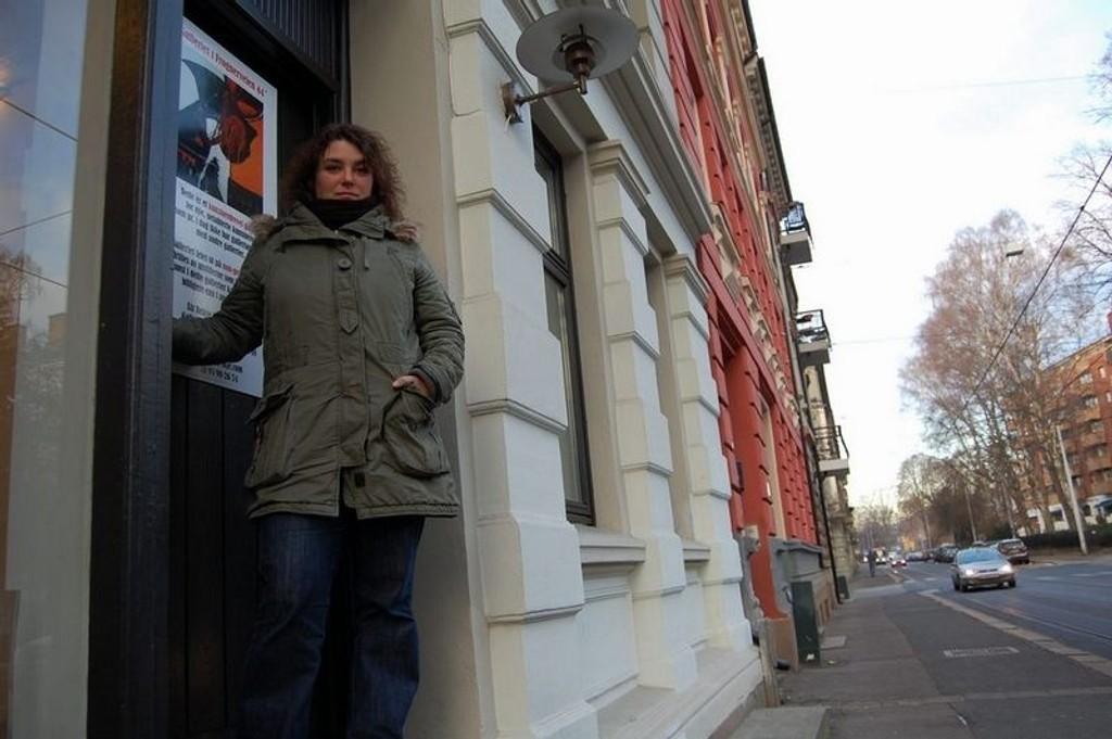 Camilla Foss viser oss verden i sin nye utstilling.