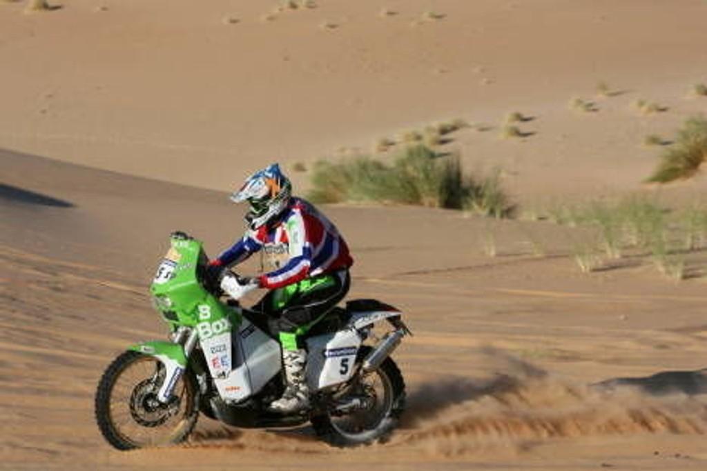 Ullevålseter lå som nummer 6 i Dakar-rallyet etter to etapper.