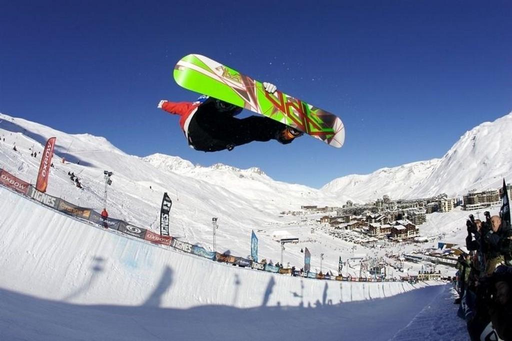 BEST: Hemsedal er blant de beste reisemålene for snowboardere, mener The Telegraph, men Tignes (bildet) er best
