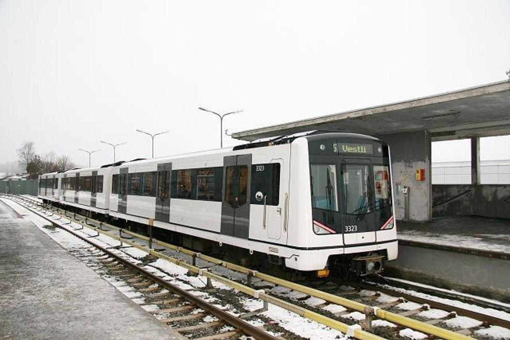I 2009 skal flere stasjoner på Linje 5 rustes opp. Først ut er Rødtvet, med oppstart 19. januar. Illustrasjonsfoto