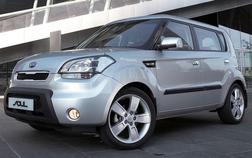 PÅ VENT: Kia Soul - en kjekk småbil.
