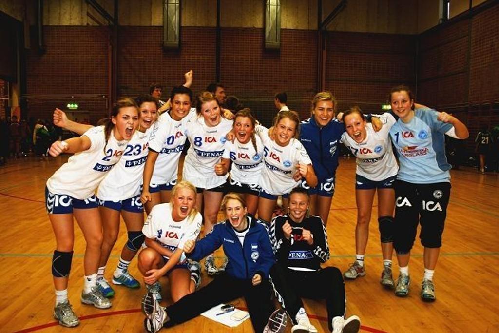 NIFs J16 som vant bronse i Nordencup i Gøteborg.