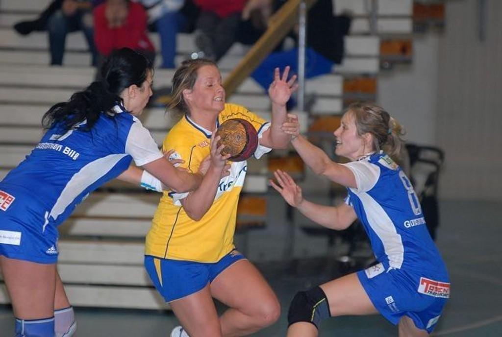 Christina Solheim Andersen og Bækkelaget fikk seg nok en nedtur i eliteserien onsdag kveld.