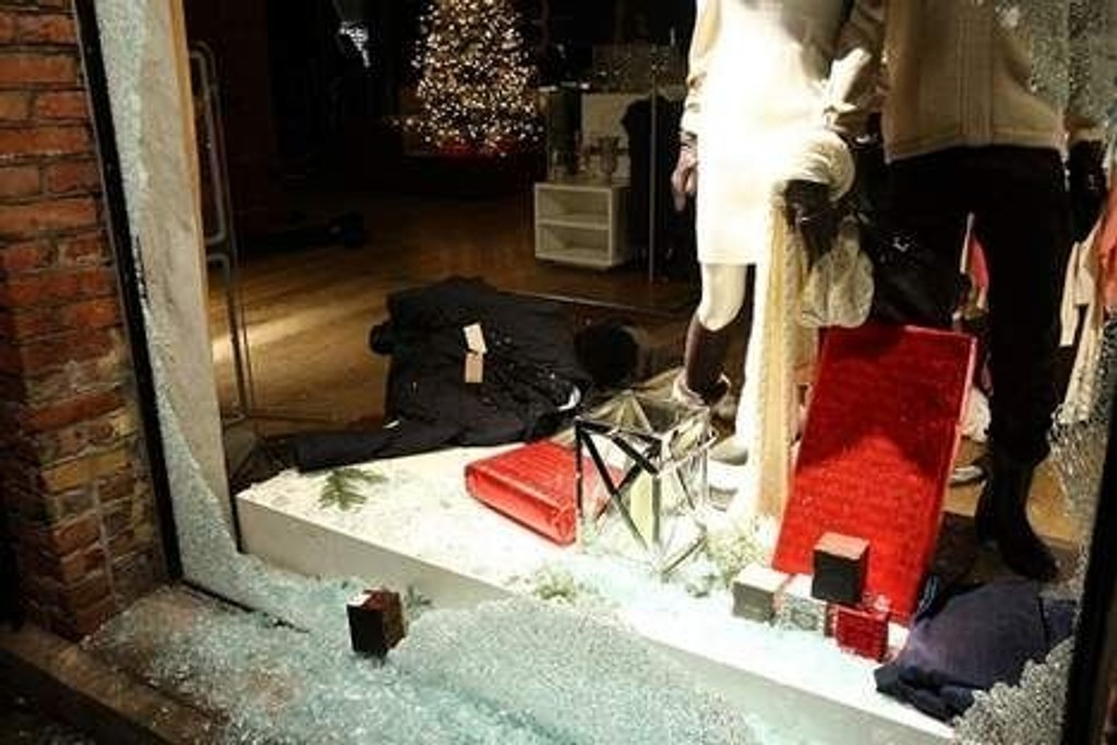 Høyer på Sjølyst er en av flere butikker på Oslo vest som ble ranet nattestid i desember.