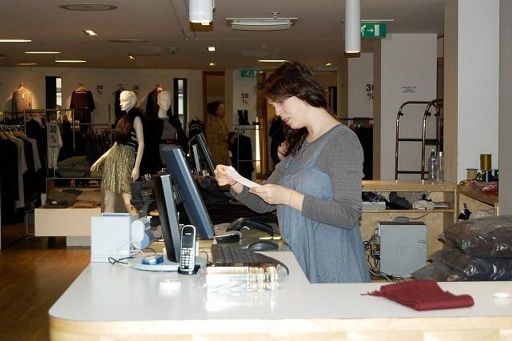 Om et års tid vil Martine Elise Gran og de andre på Tatler jobbe i nye lokaler. Den svenske gigantkjeden Hennes & Mauritz åpner trolig dørene i 2011.