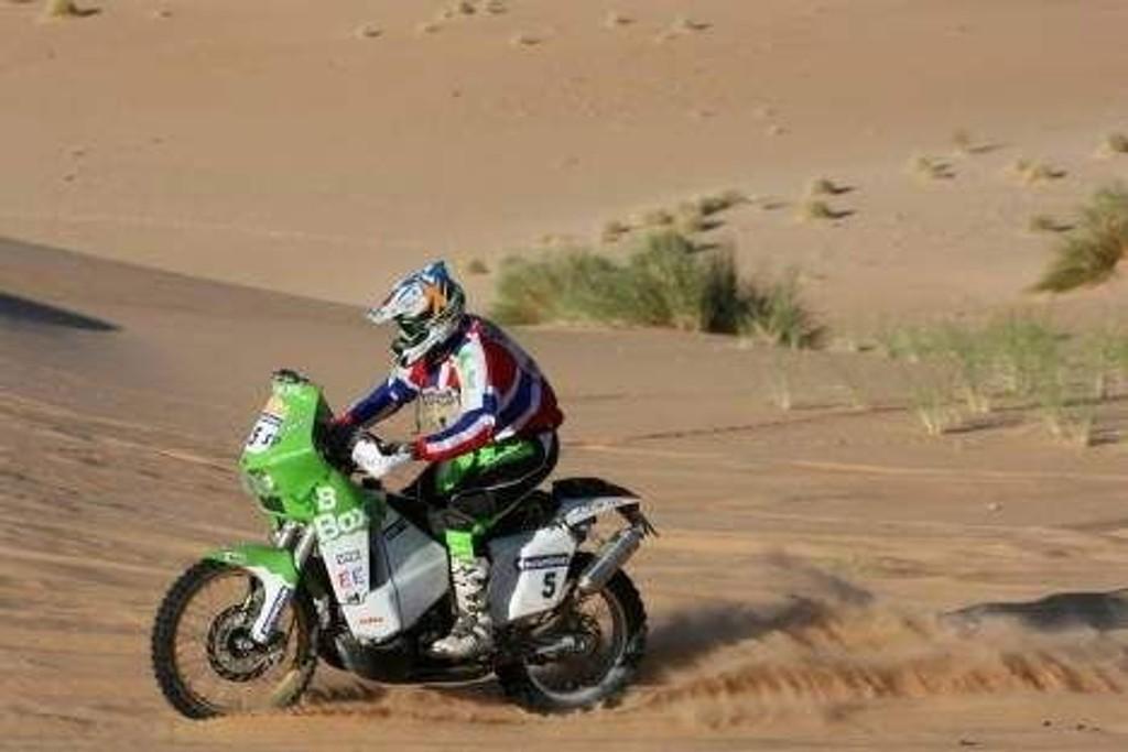 Pål Anders Ullevålseter endte på en 7. plass i onsdagens etappe av Dakar-rallyet.