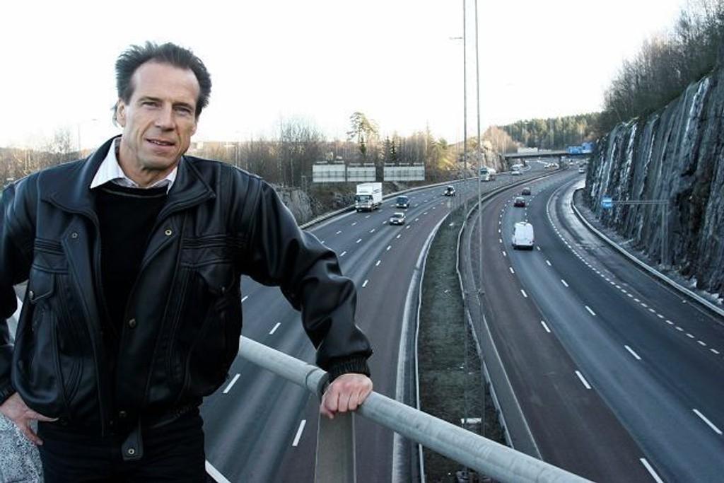 Jan Bøhler har liten sans for Peter N. Myhres kritikk av miljøfartsgrensen langs Ringveien. Arkivfoto