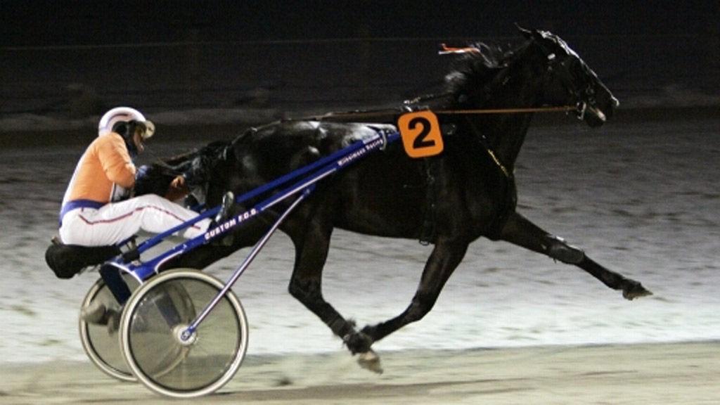 Lill Adolf vinner Prince Royals Minneløp på Kloster 3.1.09
