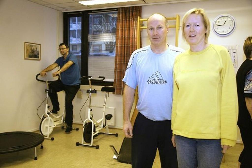 I likhet med mange andre fysioterapeuter, frykter Sverre Jokstad og Unni Heimli Jokstad at klinikken deres vil gå konkurs når den nye ordningen trer i kraft.