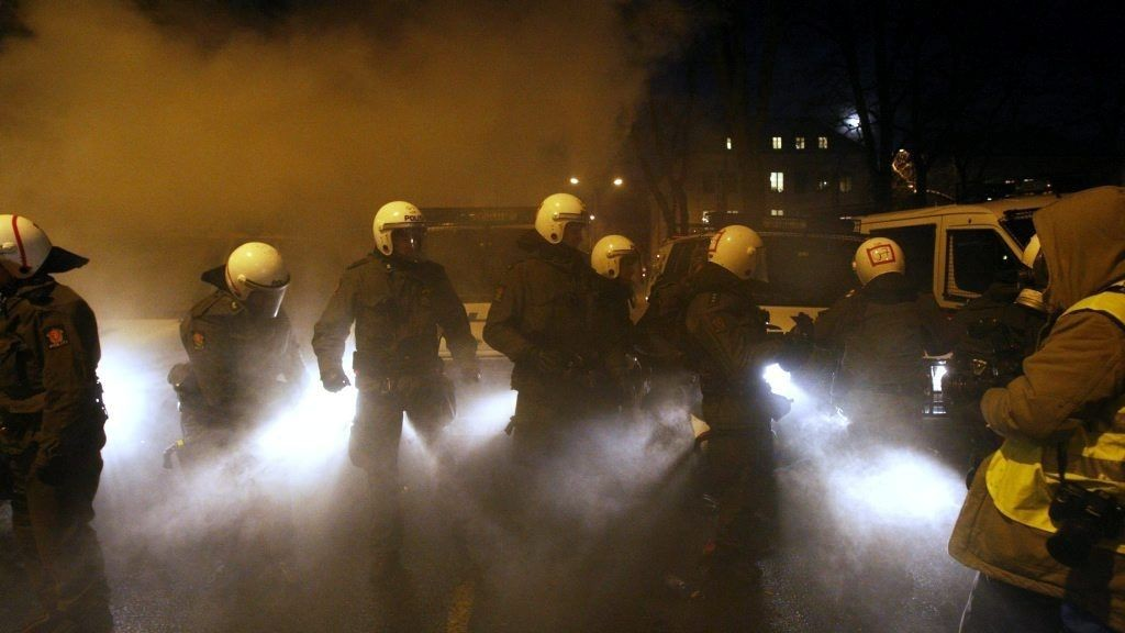 72 av de pågrepne i forbindelse med de voldelige Gaza-demonstrasjonene var under 18 år gamle.