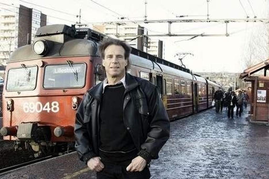 Jan Bøhlers tålmodighet er slutt etter store forsinkelser i togtrafikken den første uka i januar. Arkivfoto: Lars Roar Rud.