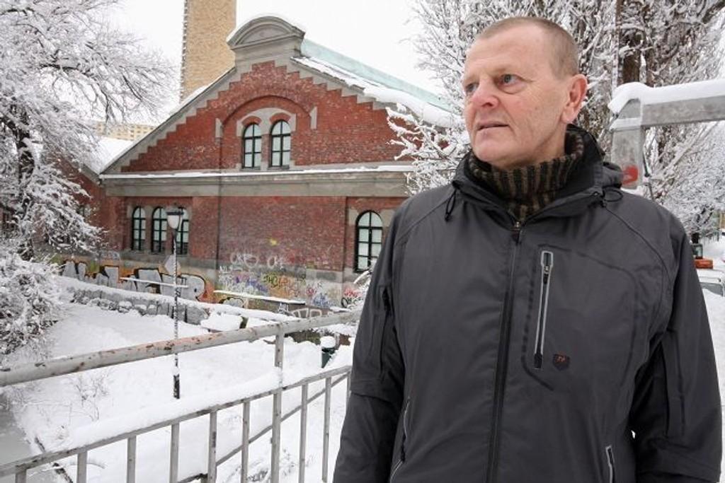 Ola Klegseth føler seg ikke trygg med dopselgerne langs Akerselva. FOTO: HEGE BJØRNSDATTER BRAATEN