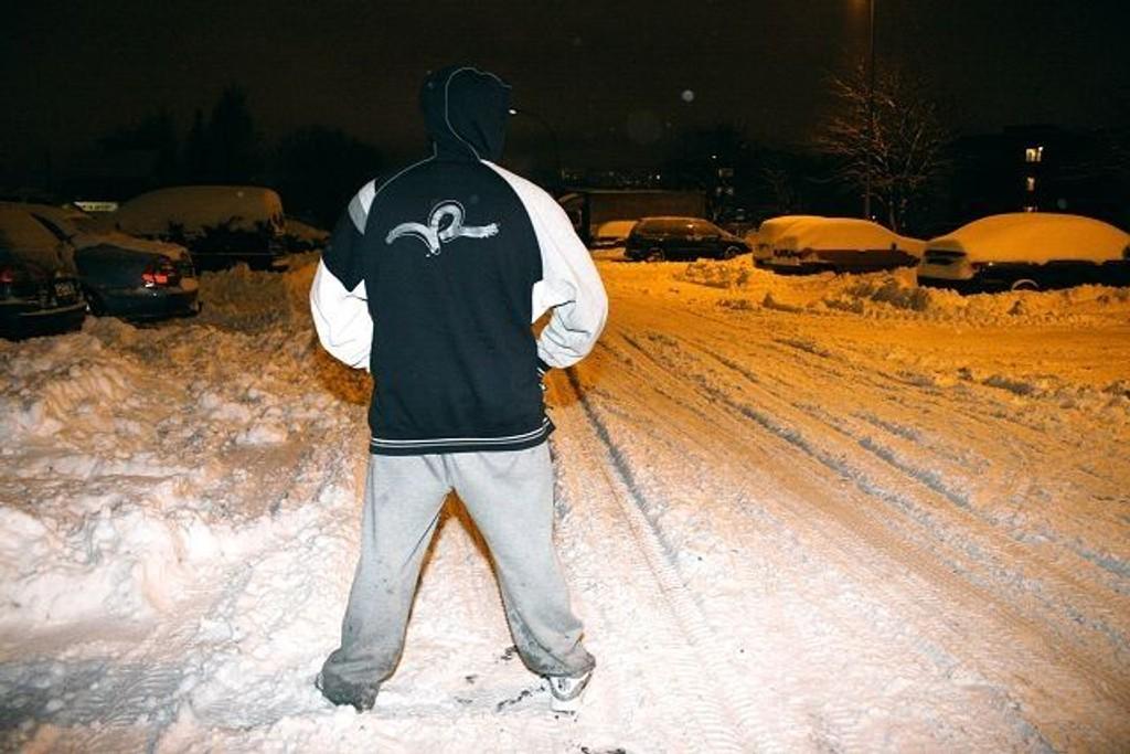 23-åringen fra Groruddalen var med under de voldelige opptøyene i Oslos gater 7. januar.