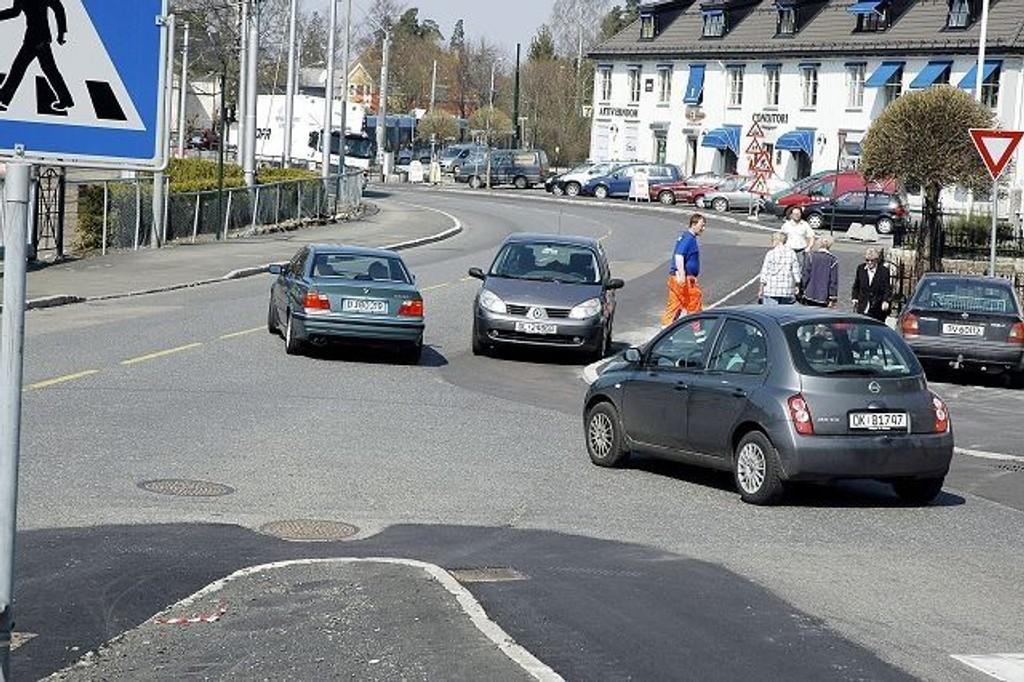Artikkelforfatteren mener blant annet at trafikksituasjonen rundt Holtet forverres med utbyggingen. Arkivfoto: Aina Moberg