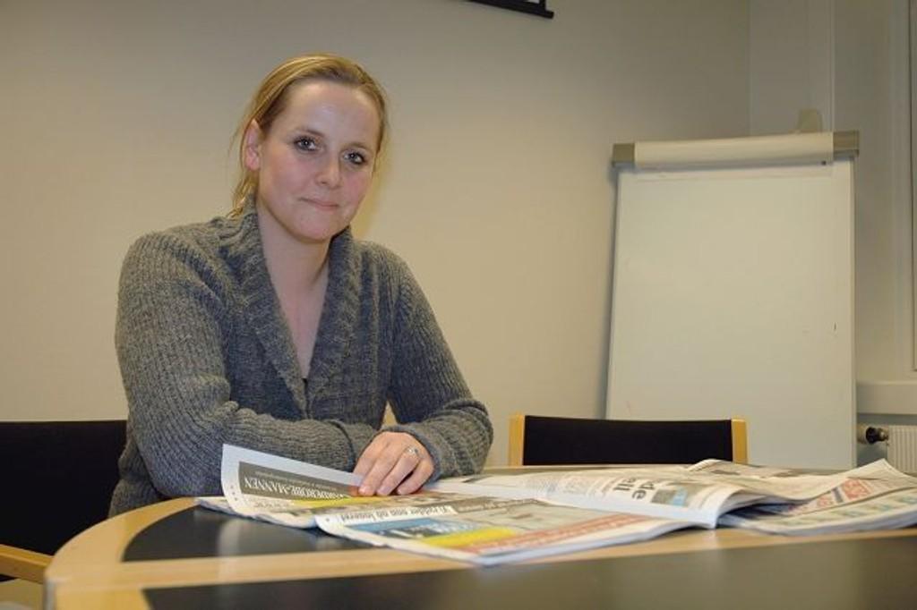 Hilde Vestlund fikk kreft da hun var 25 år. I dag er sykdommen overvunnet, og hun ser lyst på livet. Foto: Karl Andreas Kjelstrup