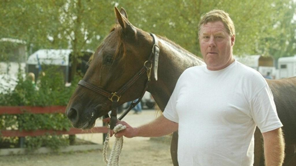Kaasas egen hest avbildet på Bjerke 4.9.2004