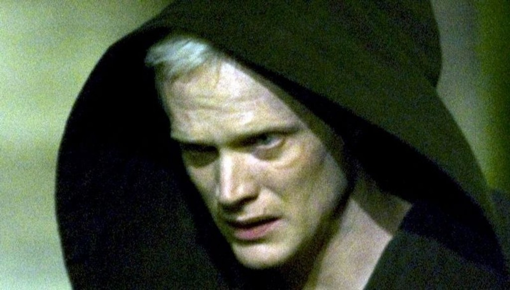"""LYSSKY: Mange fikk hetta da Paul Bettany dukket opp som Silas i """"Da Vinci-koden"""" (2006)."""