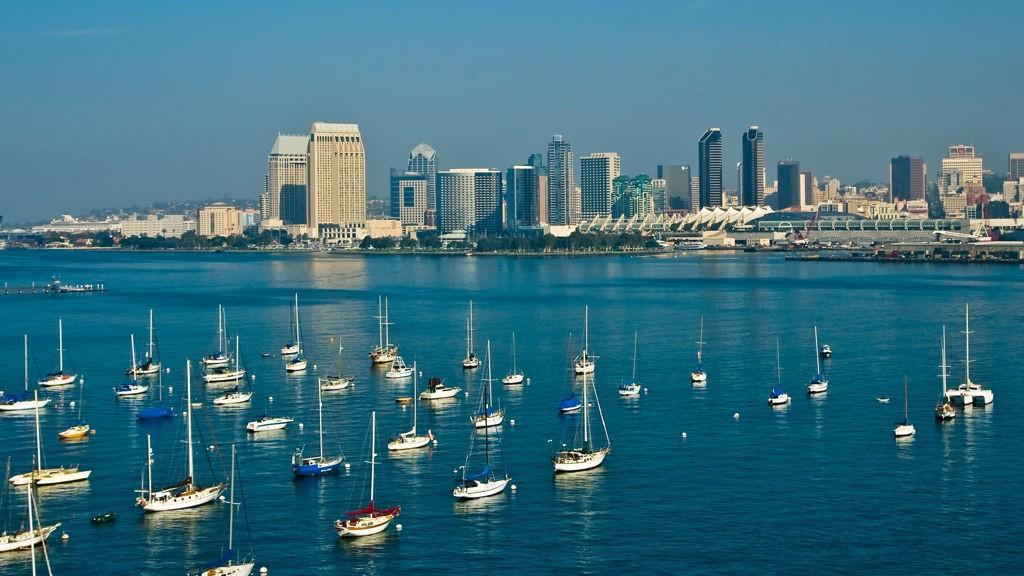 SATSER PÅ SUPERYACHTER: San Diego ønsker å bli vestkystens yacthing-hovedstad.