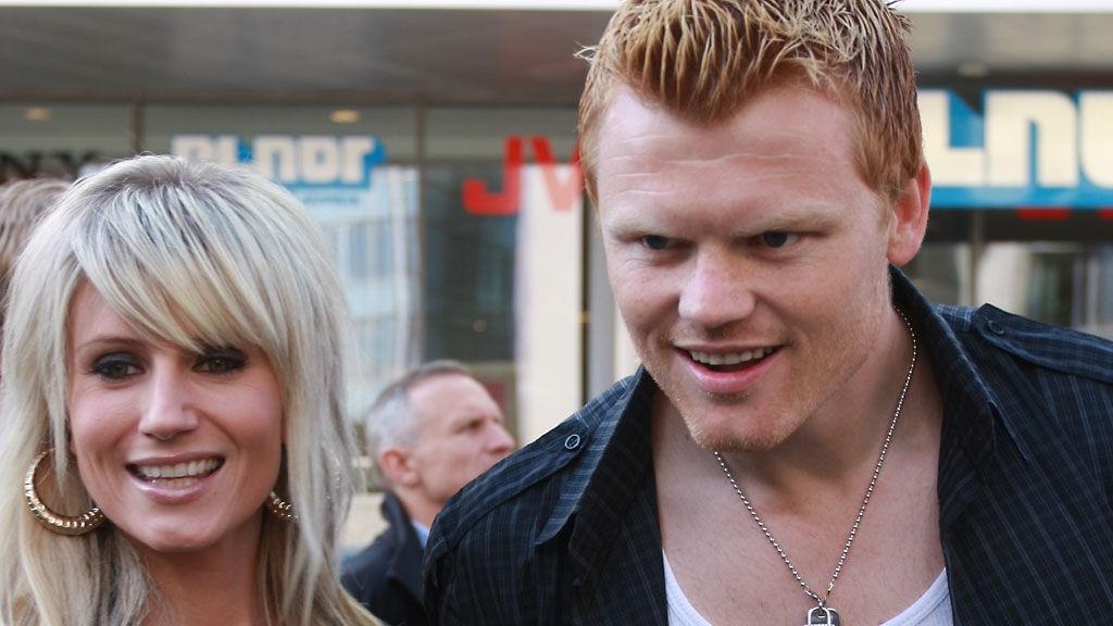 BABY: Maria og John Arne venter barn til sommeren.