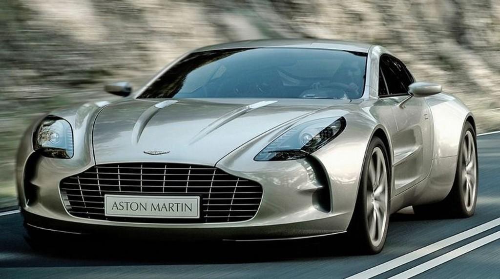 ONE-77: 700 hk for 007? No prob, Aston Martin One-77 er svaret.
