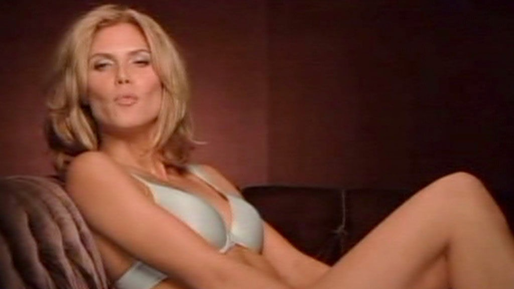 SUPER-BH: Supermodell Heidi Klum fronter Victoria's Secrets nye «Perfect One»-BH.