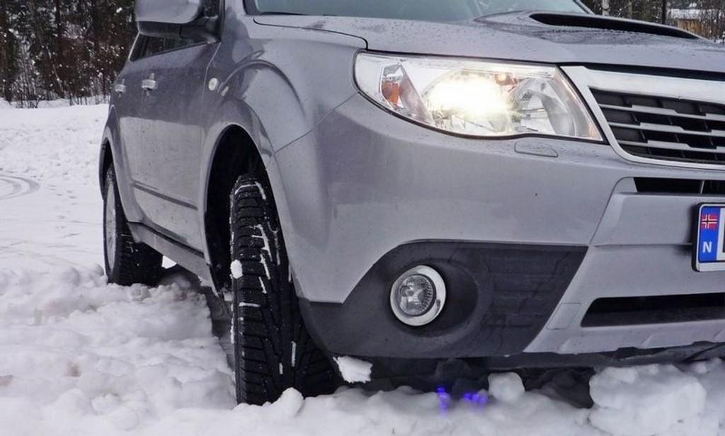 PRAKTISK: Subaru Forester fremstår som en allværsjakke: Kjedelig, men svært praktisk.