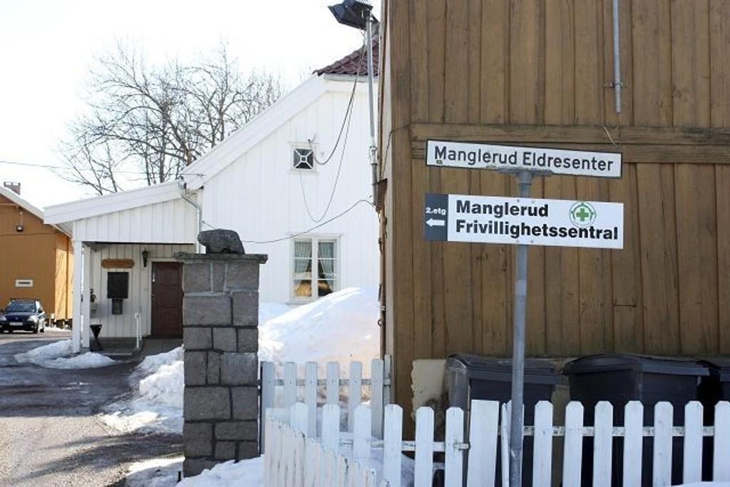 Manglerud eldresenter skal nå hete Manglerud gård treffsted 60 + for å gjøre seg mer attraktive for yngre pensjonister.