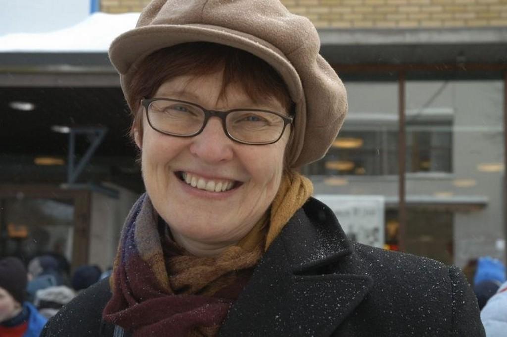 Gruppeleder i KrF, Aud Kvalbein, støtter forslaget om en tankesmie om Oppsal senter.