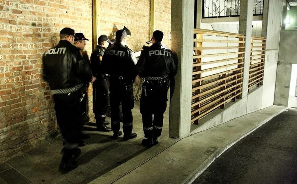 Flere politifolk rykket ut etter at en mann ble knivstukket i Ullevålsveien