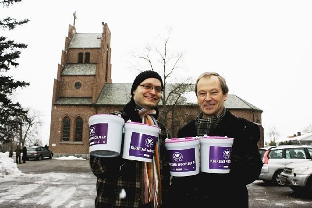 Mandag og tirsdag til uken arrangeres den årlige fasteaksjonen til inntekt for Kirkens Nødhjelp. Aksjonsleder på Nordstrand, Trond Nystedt og presten på Lambertseter, Asle Rossavik håper at innsamlerne i alle menighetene våre blir møtt av velvillige givere.
