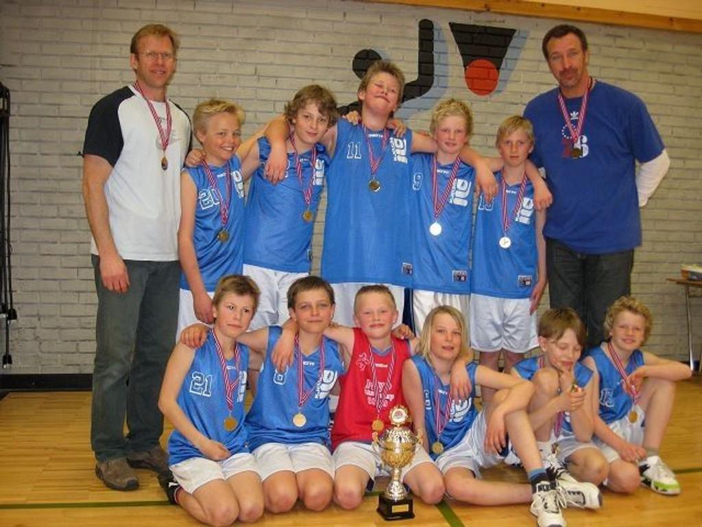 Kjelsås G92 vant Hansa Cup i Bergen. FOTO: PRIVAT