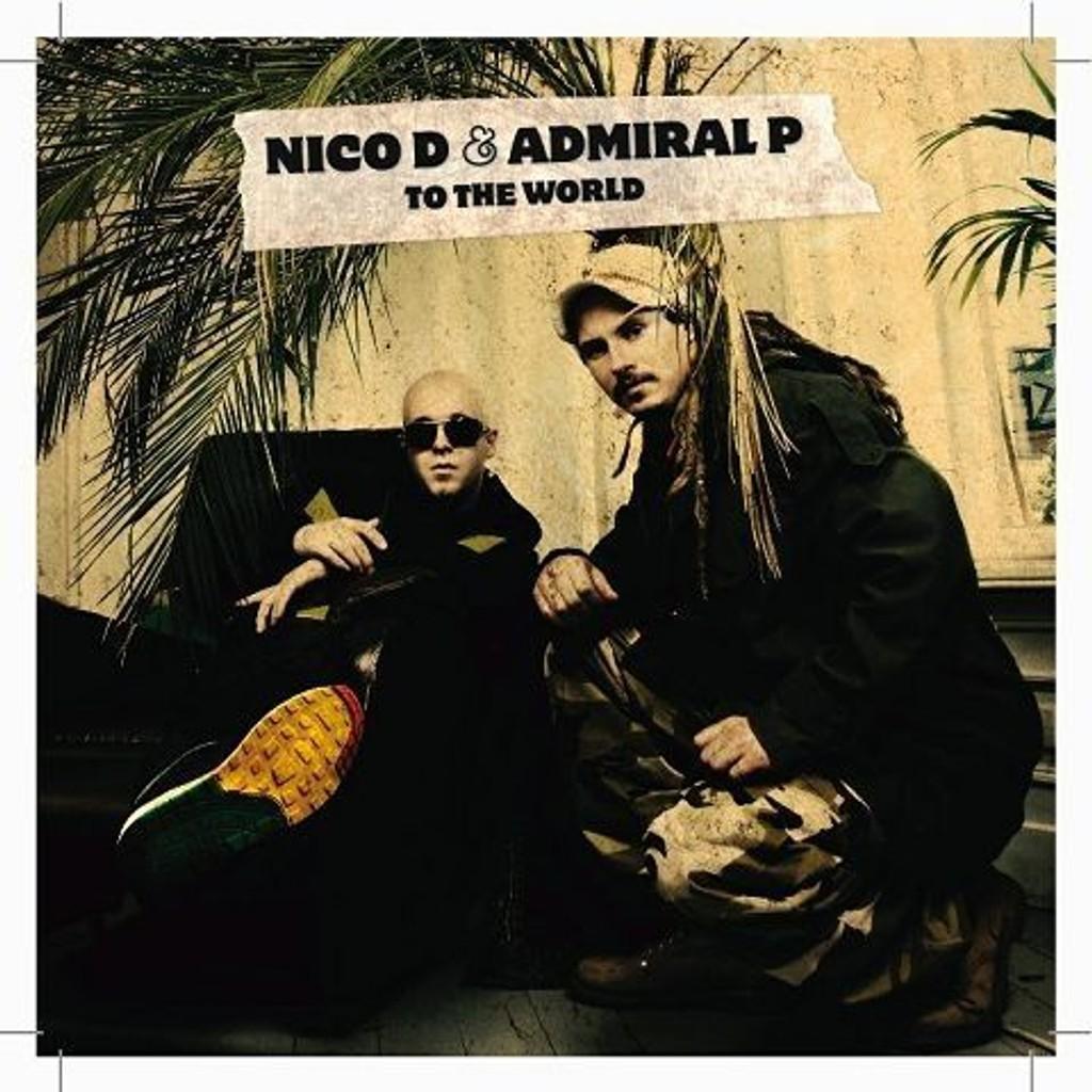Nico D & Admiral P spiller på Cosmopolite i morgen kveld. FOTO: PROMO