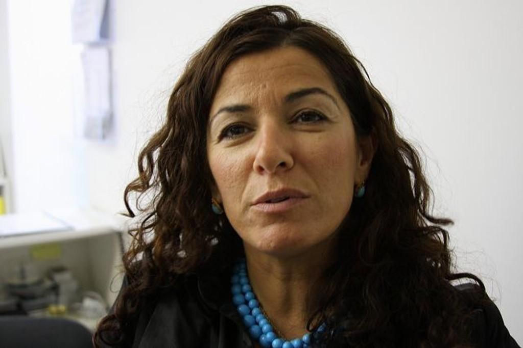 Roghieh Asgari Torvund koste seg under gårsdagens åpning. FOTO: Erik Tangen