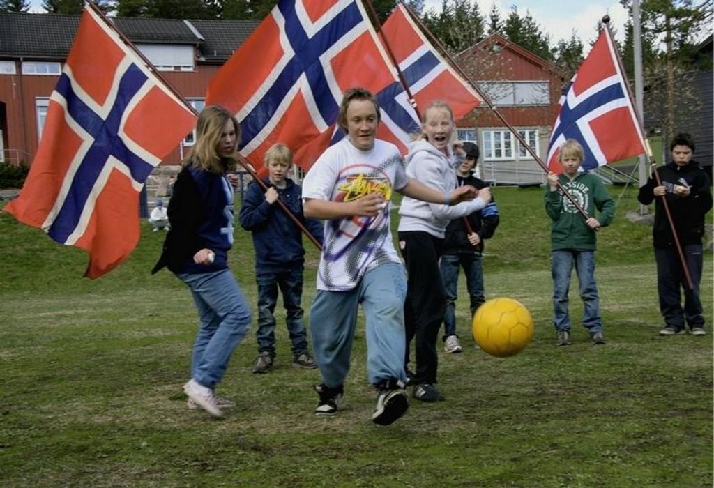 Det blir 17. mai-feiring på alle barneskolene i bydelen. På Maridalen skole blir det trdisjonen tro fotballturnering.