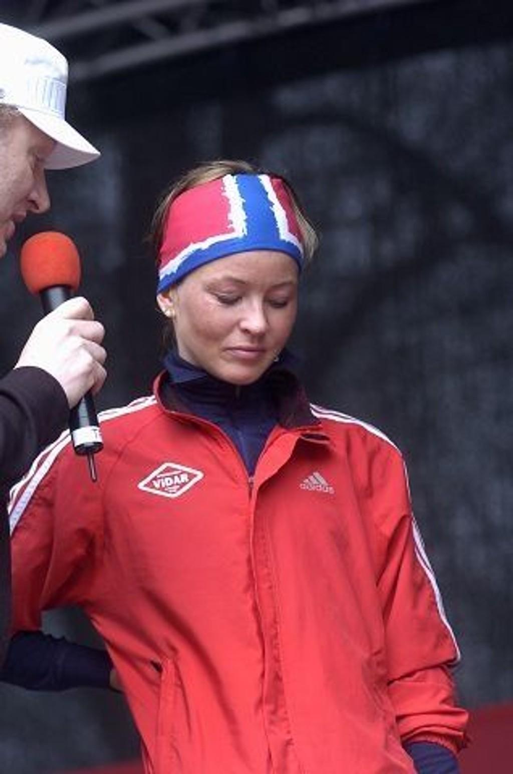 Christina Bus Holth var nok en gang raskest i et løp. På Bislett vant Vidar-løperen i suveren stil.