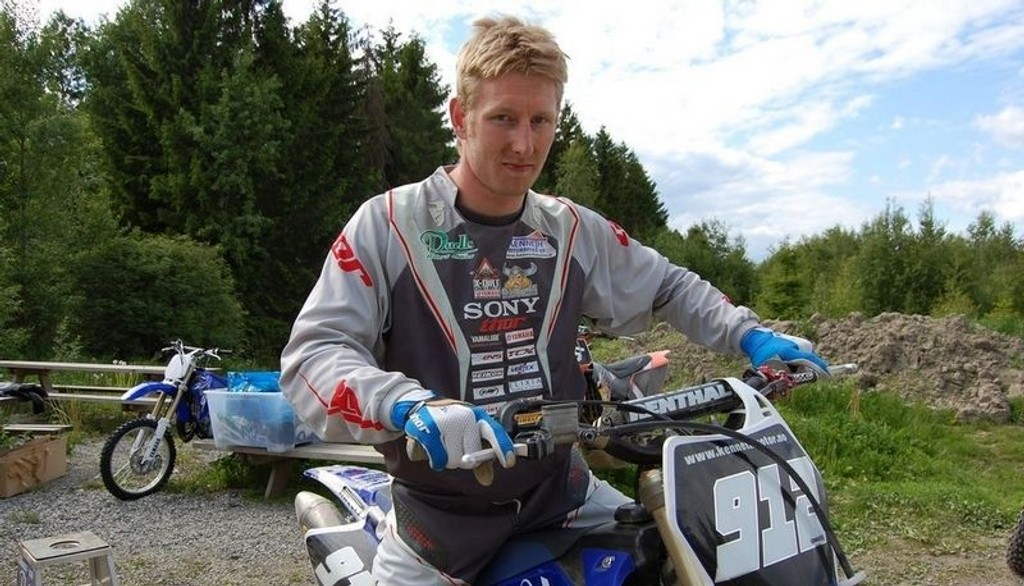 GASS: Norges eneste motocrossstjerne gir jernet og satser på VM-tittel.