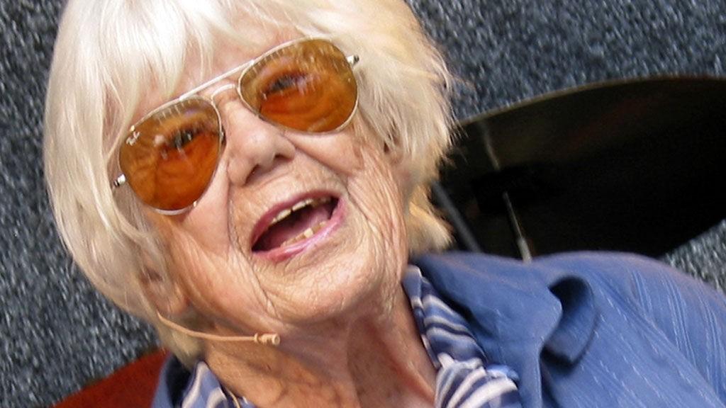 DØD: Forfatteren Ebba Haslund ble 91 år gammel.