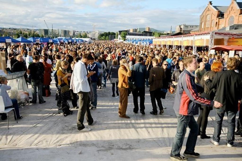 I midten av august blir tidenes festivaluke i Oslo. Her fra Øyafestivalen i fjor.