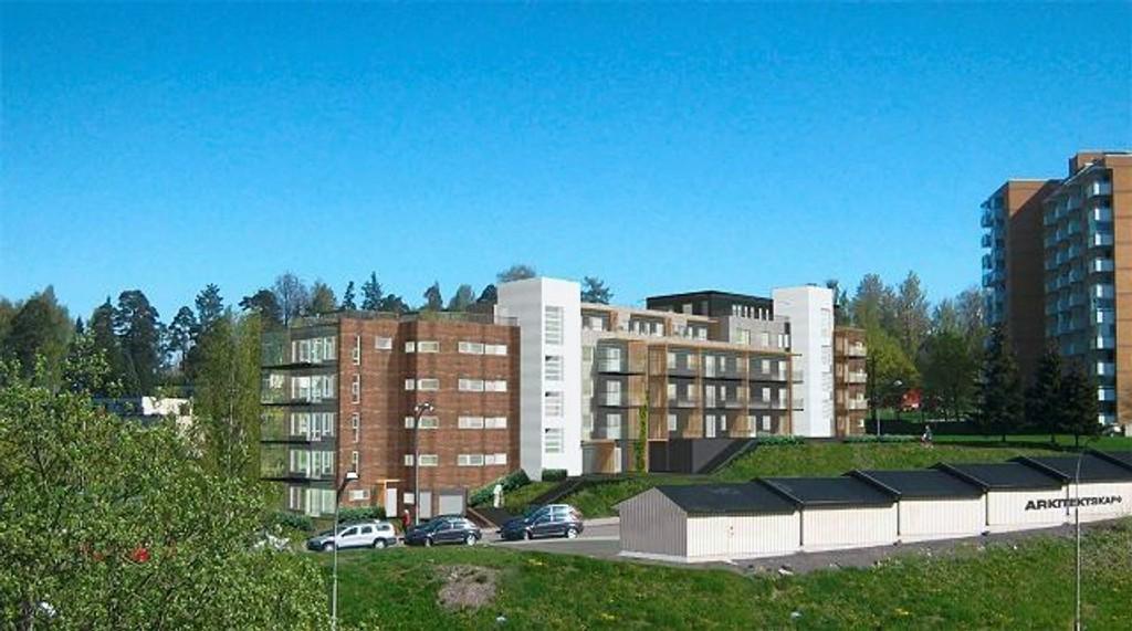 Langt færre nye boliger ble ferdigstilt i Oslo i 2008 enn året før. Her fra Lønnebakken borettslag på Tveita. ILLUSTRASJON