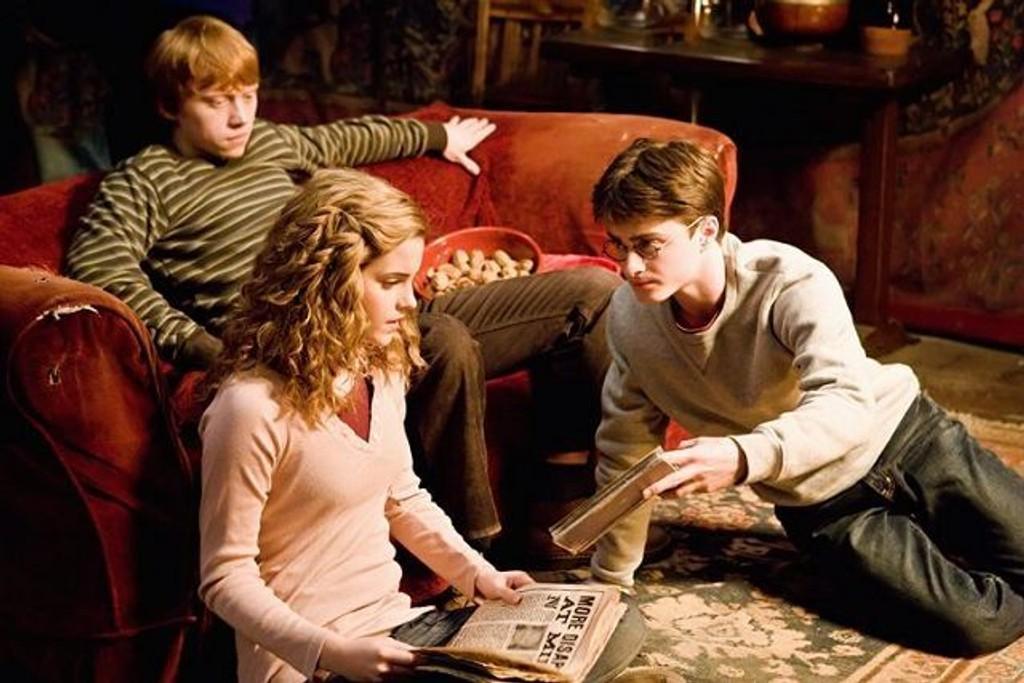 Harry Potter og Hermine Grang. FOTO: Warner Bro. Entertainment Inc. / Jaap Buitendijk
