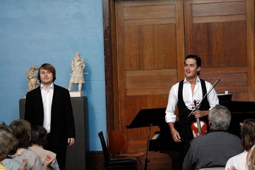 Charles Siem og Joachim Kwetzinsky med en forrykende konsert.